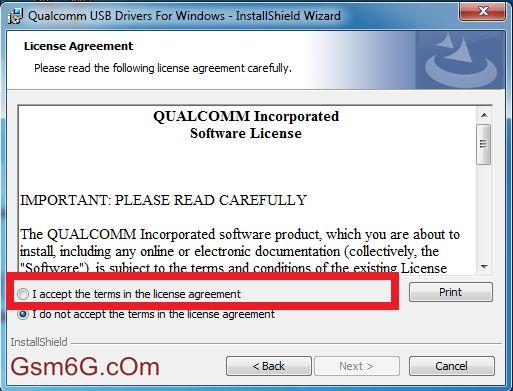 Hướng dẫn cài đặt driver Qualcom 9008 3
