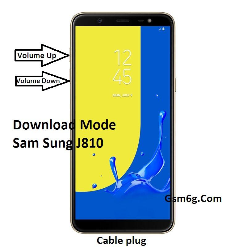 Hướng dẫn đưa Sam Sung J8-j810 về Download Mode và Recovery