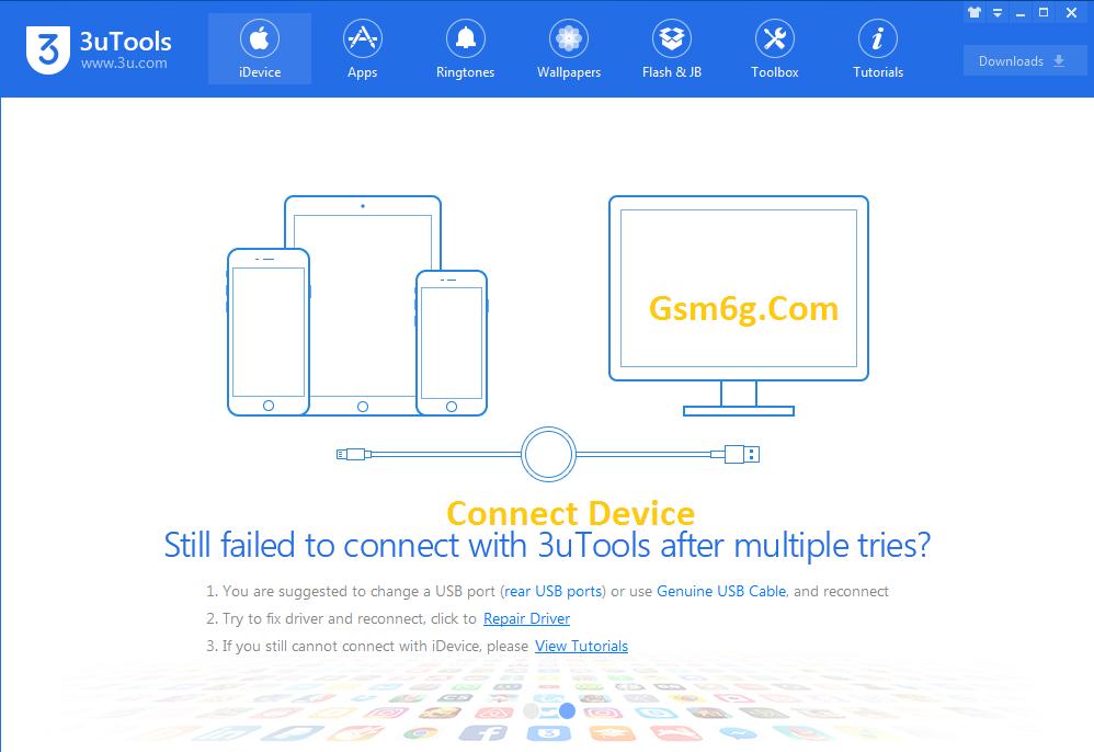 Tải 3utools phần mềm tải nhạc hình ảnh,sao lưu danh bạ iphone