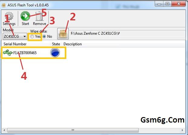 Hướng dẫn sử dụng Asus FlashTool Flash Rom Raw 2