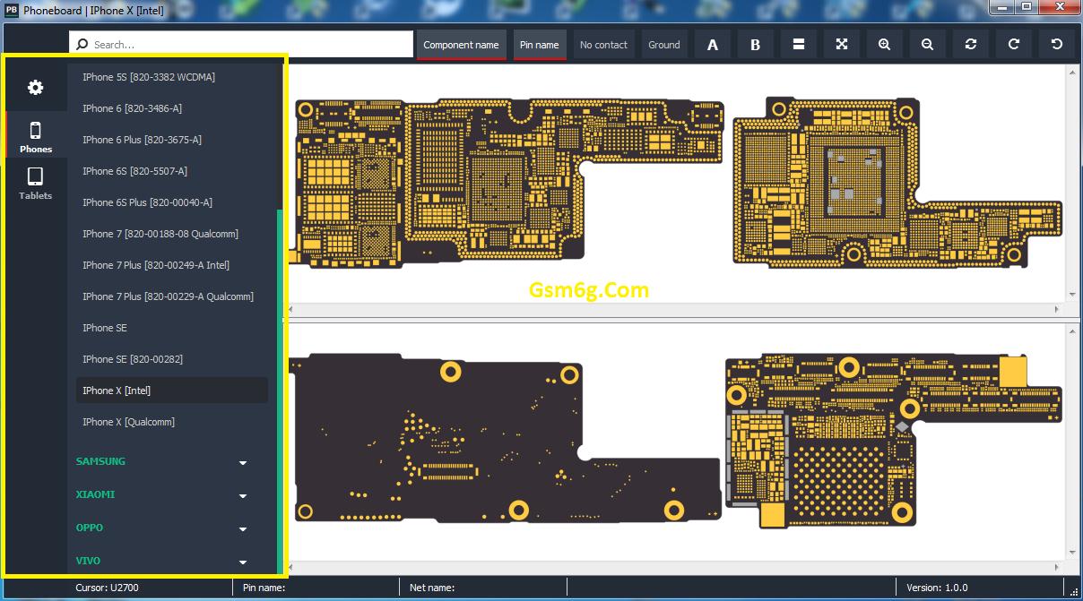 Tool xem sơ đồ mạch miễn phí-Phoneboard