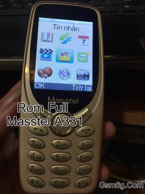 Rom Full bin + Phá mật khẩu Masstel A331