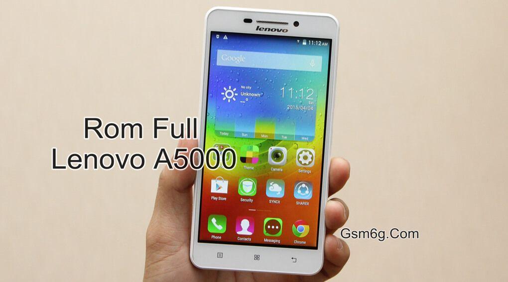 Rom Full Lenovo A5000 Chip MTK 6582